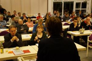 Rund 60 Delegierte waren bei der Jahreshauptversammlung im Augsburger Hotel am Park