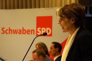 MdB Ulrike Bahr, Vorsitzende der SchwabenSPD