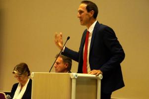 Stellvertretender Bezirksvorsitzender Christoph Schmid