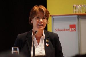 Ulrike Bahr, MdB, Vorsitzende der SchwabenSPD.