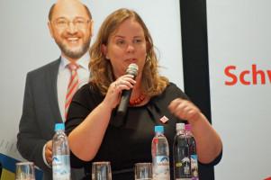 Katharina Schrader, Kandidatin im Wahlkreis Oberallgäu.