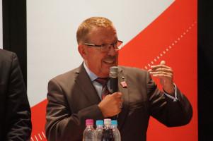 Karl-Heinz Brunner, MdB, Kandidat im Wahlkreis Neu-Ulm.